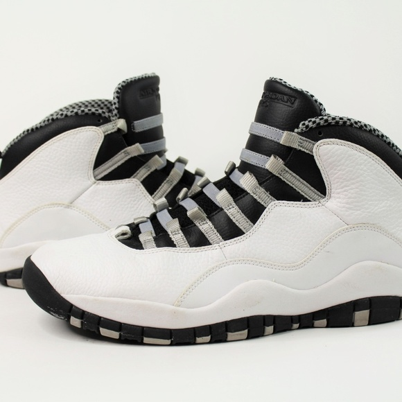 buy popular bfaaf 34542 Nike Air Jordan Steel Toe X 10 310805-103 Men's 11